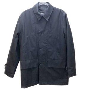 Banana Republic Jackets & Coats - Banana Republic Black Zipr Closure & Buttons Sz S